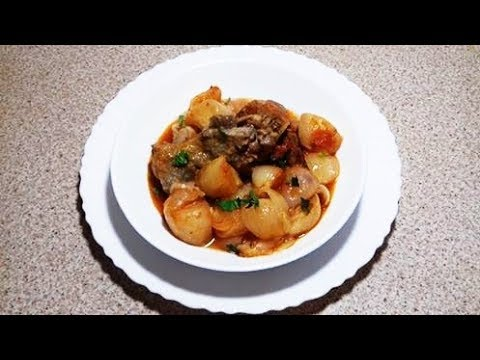 Comlek Me Mish Vici - A Traditional Albanian Onion Dish
