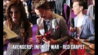 Avengers : Infinity War Red Carpet Fan Event (Singapore) | Jigz Dinolan