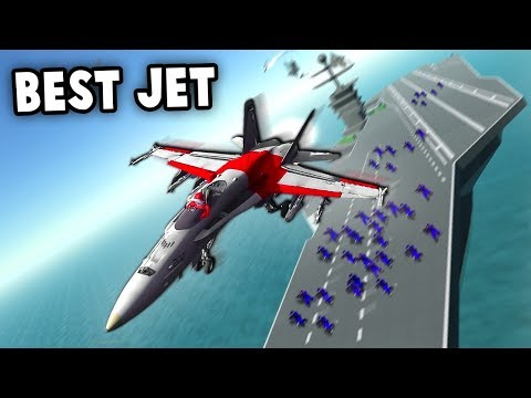 The BEST New Fighter Jet F-18 HORNET! (Ravenfield New Vehicles Update Gameplay)
