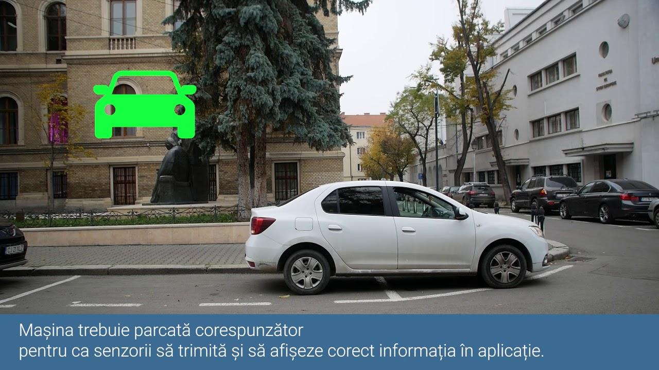 CityParking Cluj - Aplicație mobilă pentru parcările cu senzori din oraș