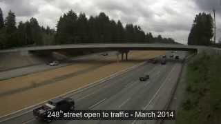 Highway #1 / 248th Street Overpass Construction in Under 2 Minutes