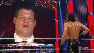 WWE Demon Kane threatens and attacks Seth Rollins: Raw, Sept. 21-28, 2015