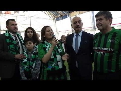 KOCAELİSPOR'UN EFSANELERİ EFE İÇİN TER DÖKTÜ   İzmit Belediyesi
