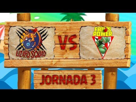 LCE Pokémon SL [Liga Luna] - ¡Lizard Squad VS Fail's Power! - Jorn 3 Temp 3