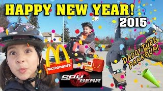 HAPPY NEW YEAR VLOG! McDonald