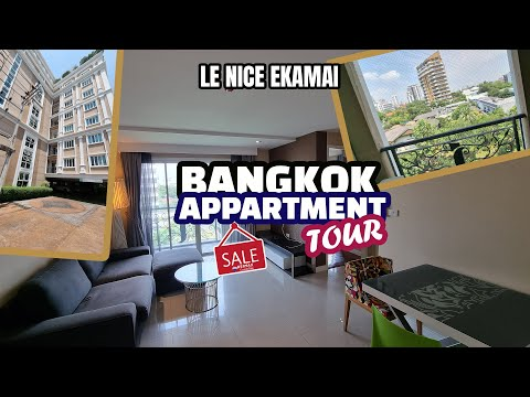 Bangkok Condo For Sale - Ekkamai - Apartment Tour by REMAX CondoDee