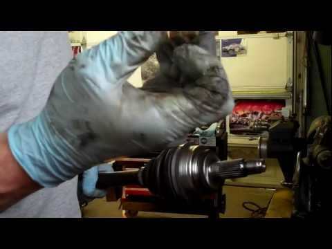 how to replace the axle on your Honda