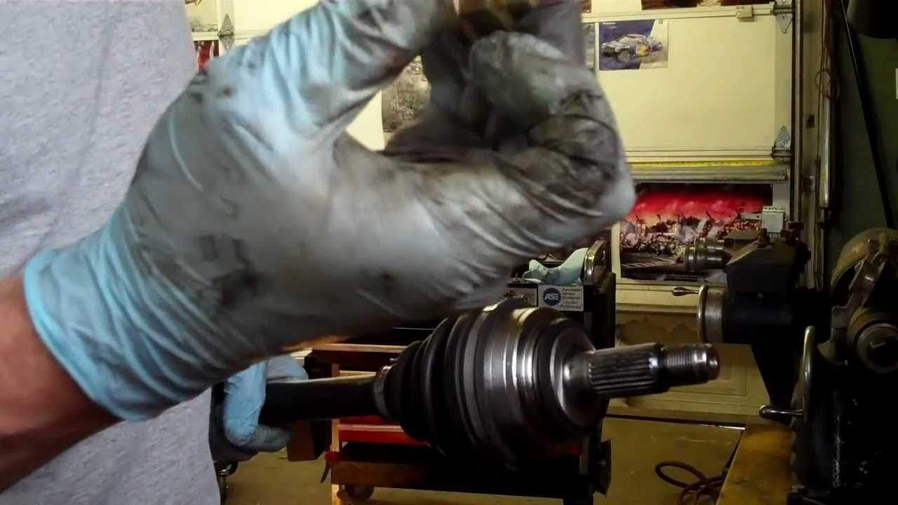 How To Replace The Axle On Your Honda Youtube
