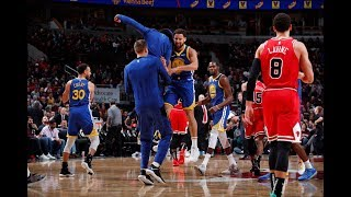 Klay Thompson Breaks Stephen Curry's Single-Game 3-Point Record Against Chicago Bulls