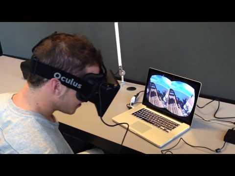 Oculus Rift - Roller Coaster Demo - VidaExtra