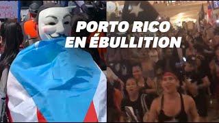 De Porto Rico à New York, les Portoricains mobilisés contre leur gouverneur