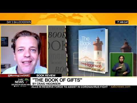 Book review: Craig Higginson's new novel 'THE BOOK OF GIFTS' launched