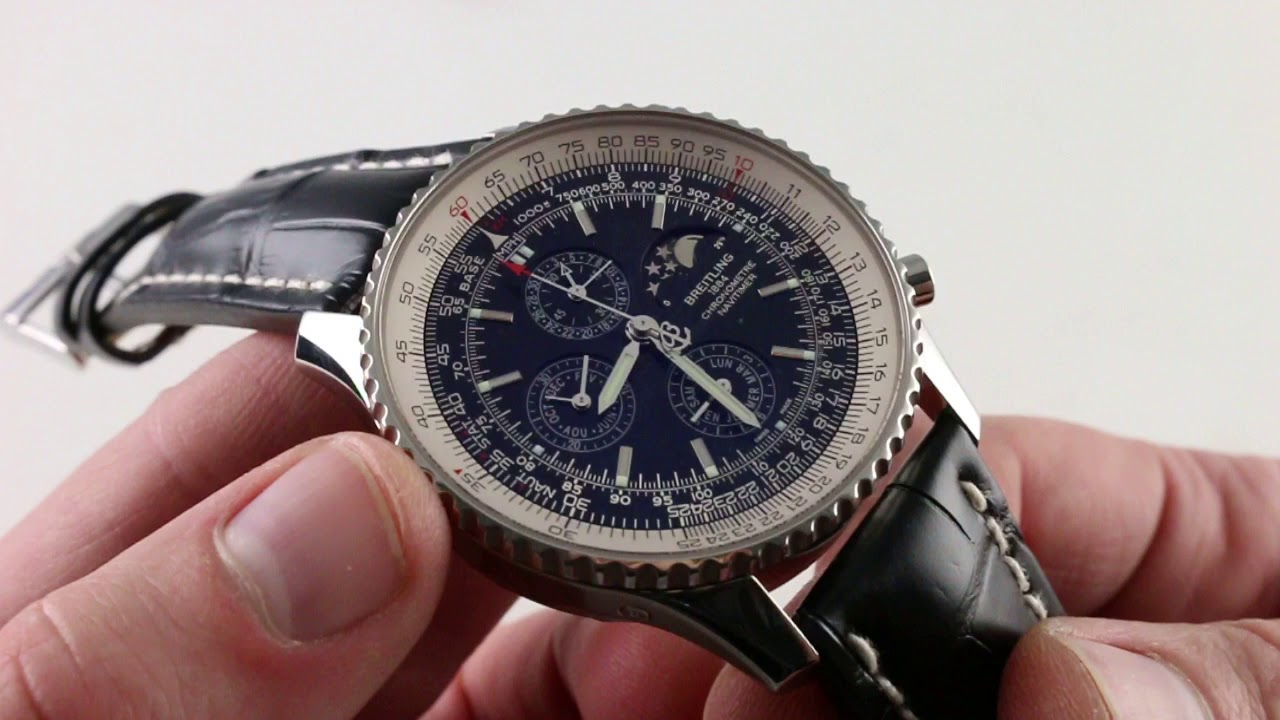 Pre Owned Breitling Navitimer 1461 Limited Edition A1937012 Ba57 Luxury Watch Review
