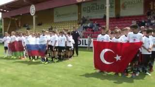 Детский футбол. Детский кубок чемпионов против расизма в Стамбуле