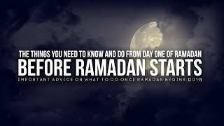 Things You Need to Know Before Ramadan Starts (2019)
