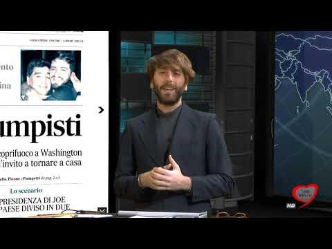 I giornali in edicola - la rassegna stampa 07/01/2021
