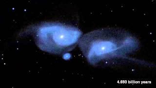 Milky Way's Head On Collision