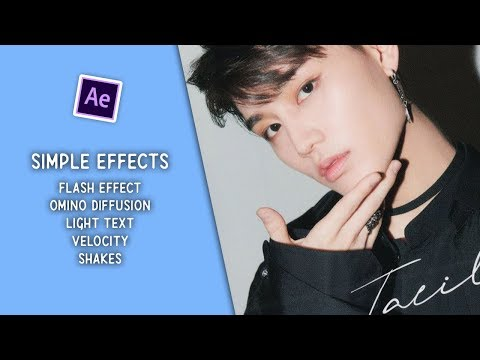 Simple effects i use in my edits | After Effects tutorial (thanks for 15k!)