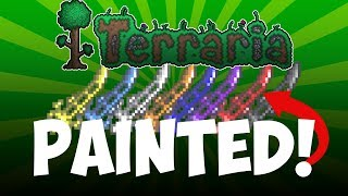 Terraria - Paint Any Item! (Item Customizer Mod) Mp3