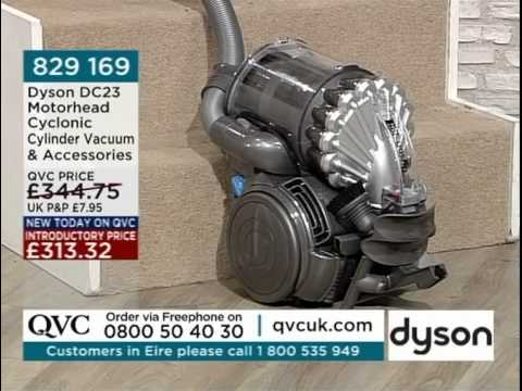 Dyson dc23 motorhead vacuum cleaner being demonstrated on for Dyson dc23 motor stopped working