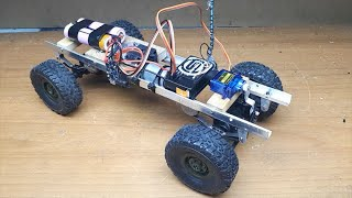 Fully DIY RC 4X4 OFF ROAD CAR! Cheap an Simple/El yapımı RC Kamyon-Ucuz ve Basit (one part)