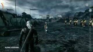 The Witcher 2 Assassins of Kings- Gameplay PC!!!! (Marcin Iwiński prezentuje gre)