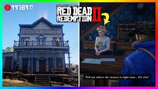 There Is A SECRET Stash Of Money Hidden Inside The Valentine Hotel In Red Dead Redemption 2! (RDR2)