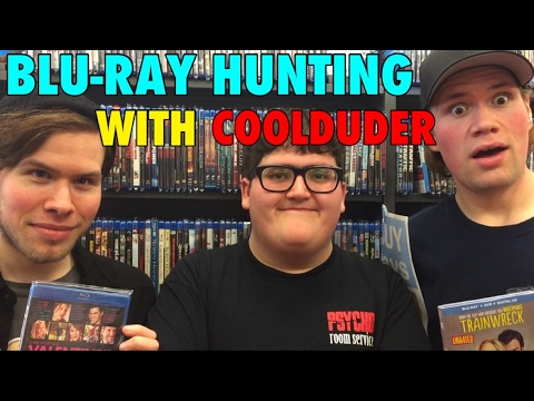 BLU-RAY HUNTING WITH COOLDUDER