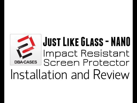 In Depth Review: Just Like Glass NANO Screen Protector Note 3 (Scratch, Sharpie, Dagger Tests)
