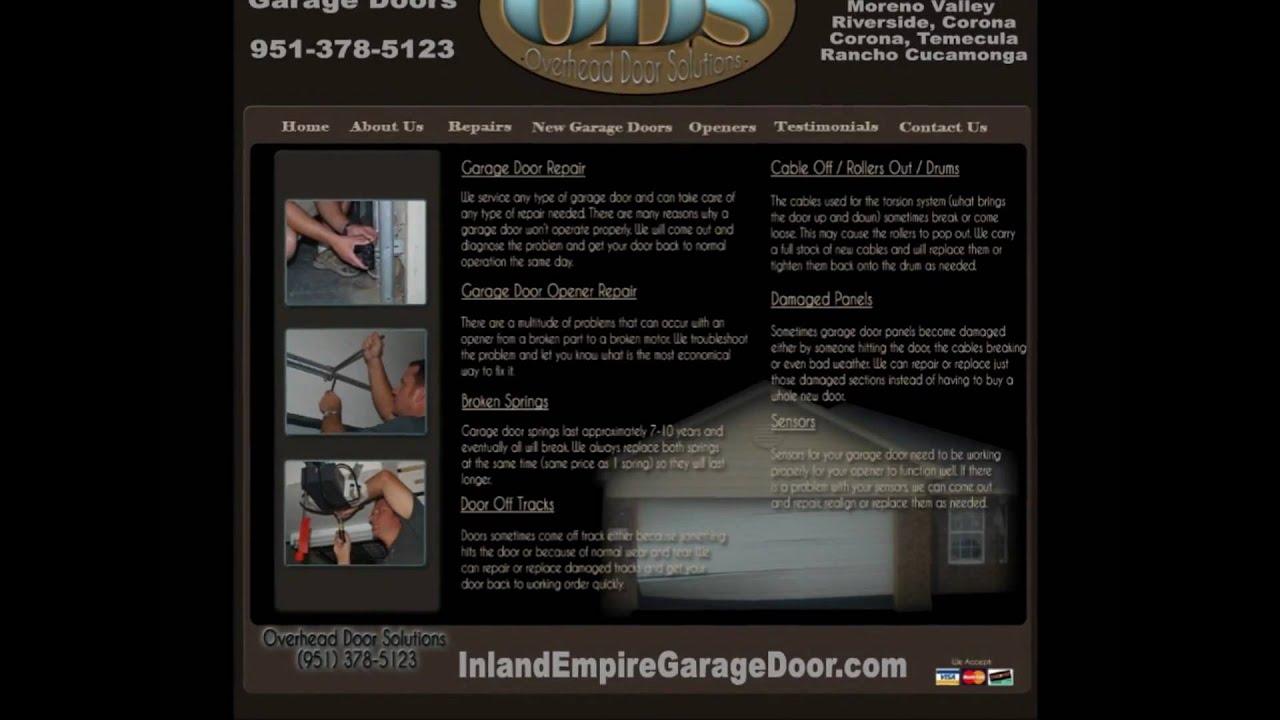 Inland Empire Garage Door 24 7 Door Service Temecula Corona