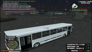 [CRMP 0.3e] GreenTech RolePlay # 1 l Night flight.