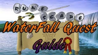 runescape 2007 waterfall quest guide for level 3 s general seal old scape