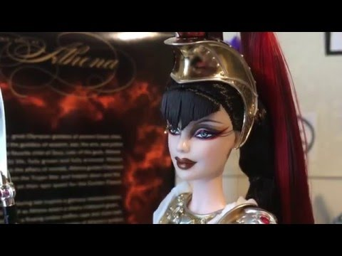 Barbie As Athena - Deboxing And Review
