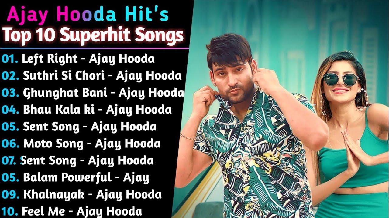 Download Ajay Hooda New Haryani Songs    New Haryanvi Jukebox 2021    Hit's Of Ajay Hooda    Ajay Best Songs