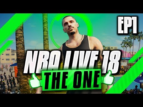 NBA LIVE 18 THE ONE GAMEPLAY - Creating A Stretch Big & Dominating The Park!