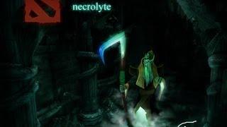 Dota 2 -  гайд по Necrolyte(Некролиту) Смертельный удар косой!  ПыдыдыдыщьЬ!!!