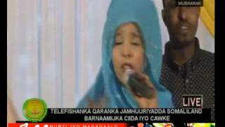 Sahra Ilays iyo heesta sida damal hadhwayn iyo ciida 2015 live