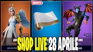 NPTNITE SERVER FORTNITE ITA LIVE SHOP 28 APRIL 2019 - A 60 ABBONATI REGALO SKIN 51/60!