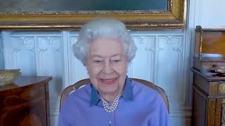 The Queen recounts her own experience of being awarded life saving honour