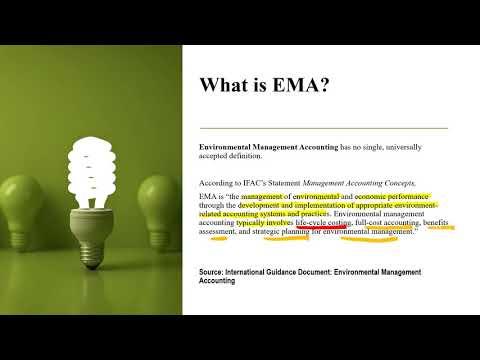 Environmental Management Accounting, Environment Accounting