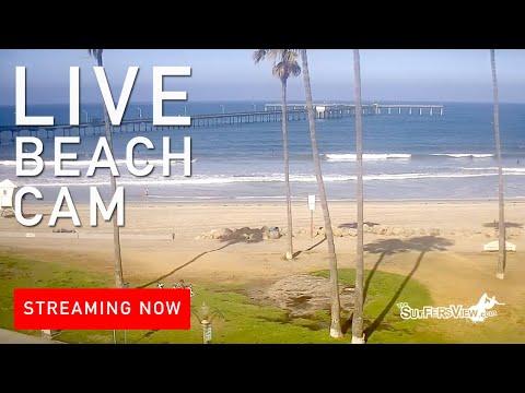 Live Surf Cam: Ocean Beach San Diego, California