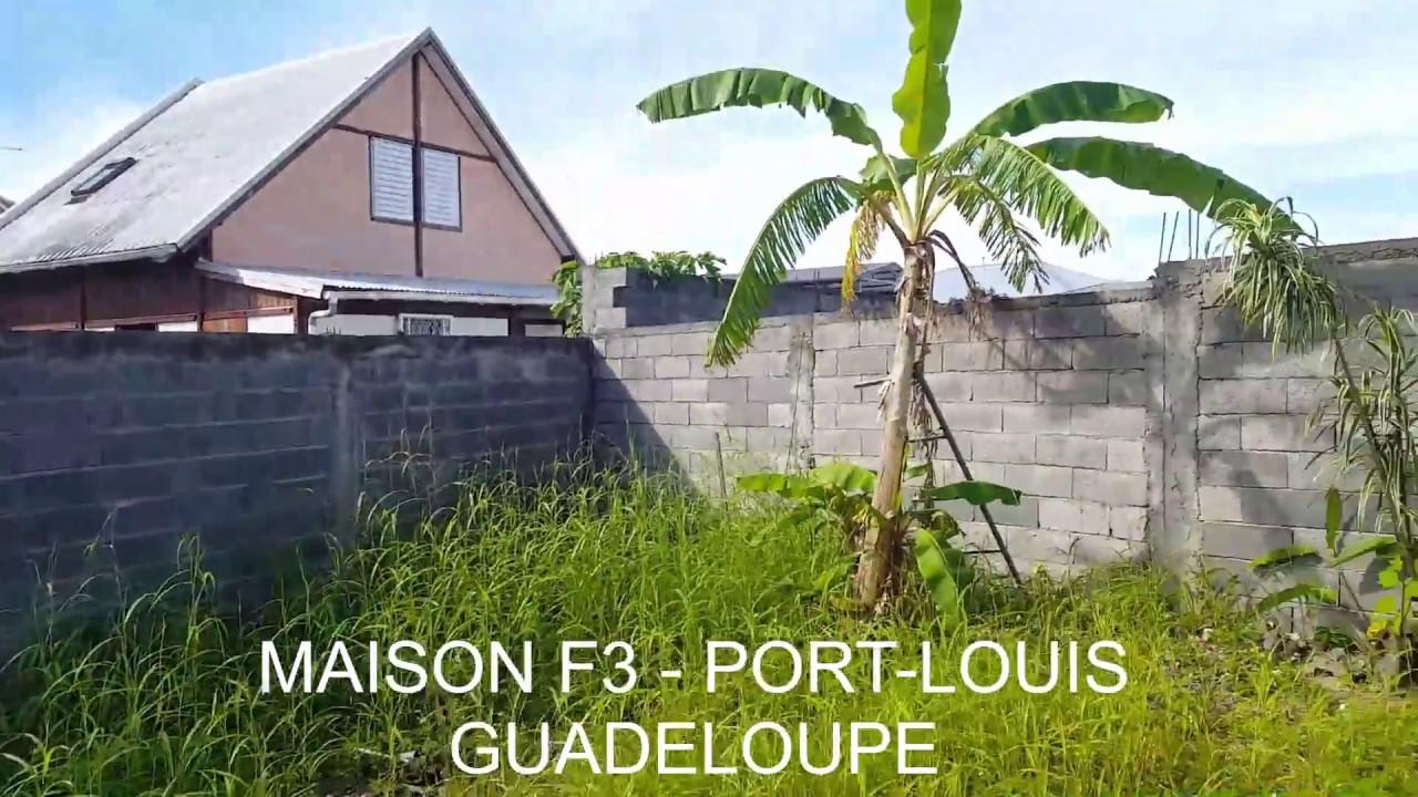 Maison f3 port louis guadeloupe youtube for Maison prefabriquee guadeloupe