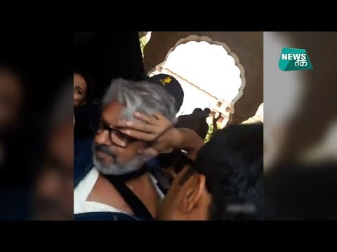 जयपुर में पद्मावती को लेकर भंसाली पर हमले का पूरा VIDEO| News Tak