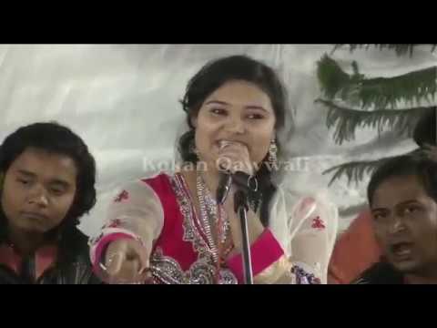 तुझा प्रेमाची दिवानि झाली आज | Marathi Qawwali | Rubi Taj Qawwali | Khopoli  Kokan Qawwali