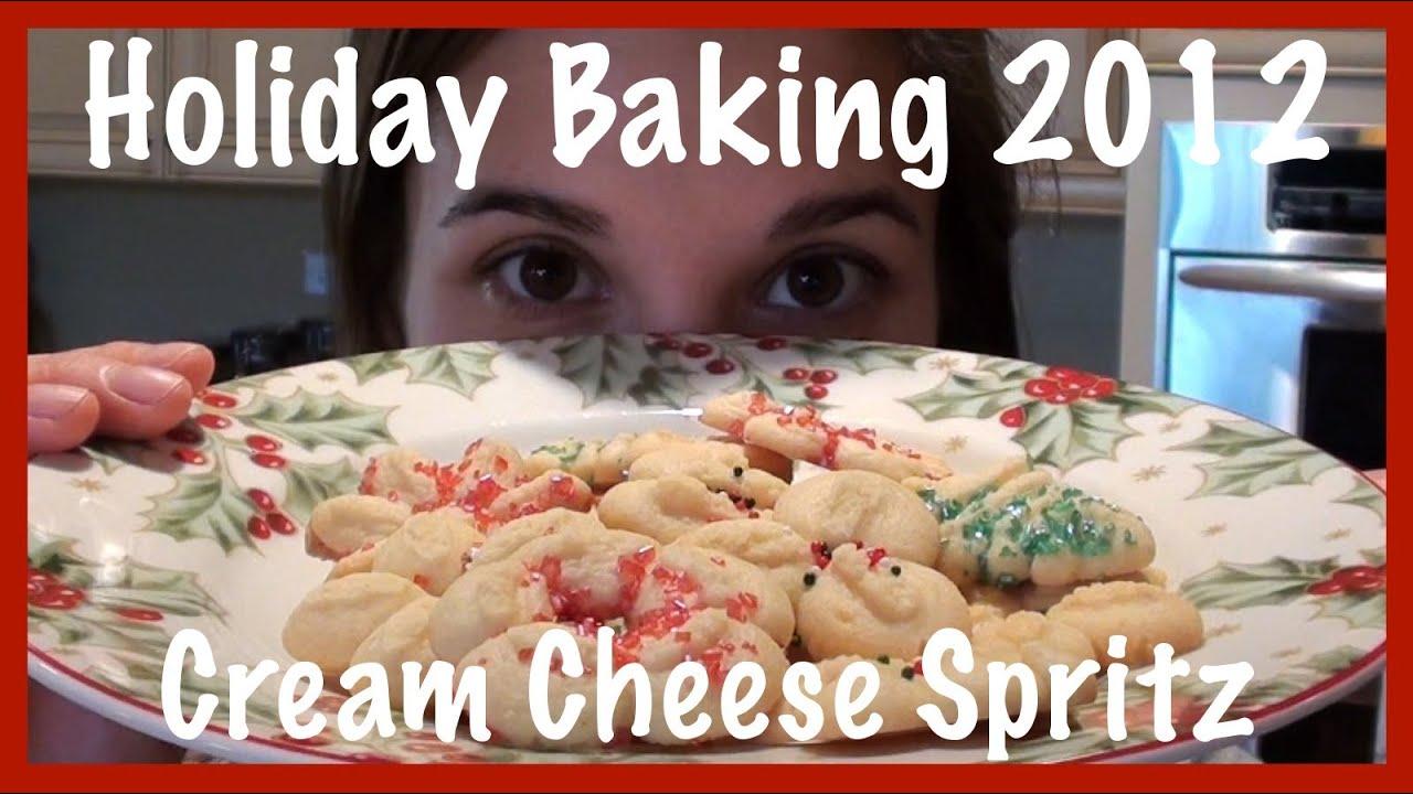 Holiday Baking 2012 Cream Cheese Spritz