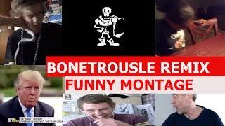 Undertale Bonetrousle Remix FUNNY MONTAGE