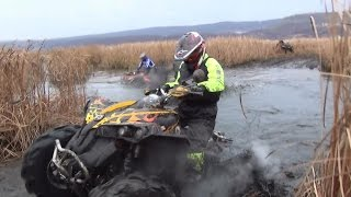 Через грязь за пирожками на квадроциклах.Самарские квадроциклисты (ВЫПУСК 10).