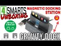 4SMARTS GRAVITY DOCK MAGNETIC DOCKING STATION UNBOXING (GREY VERSION)