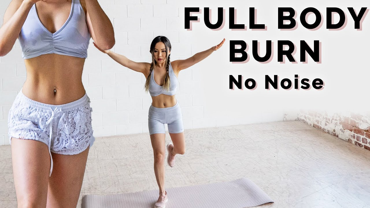 15 Min Full Body HIIT | No Noise No Jumping Apartment Friendly