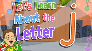 Let's Learn About the Letter j   Jack Hartmann Alphabet Song